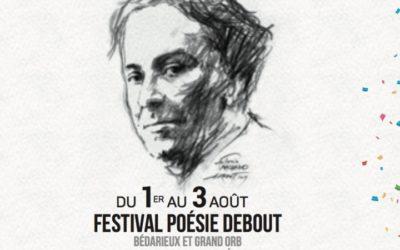 La revue Phœnix au festival de poésie de Bédarieux