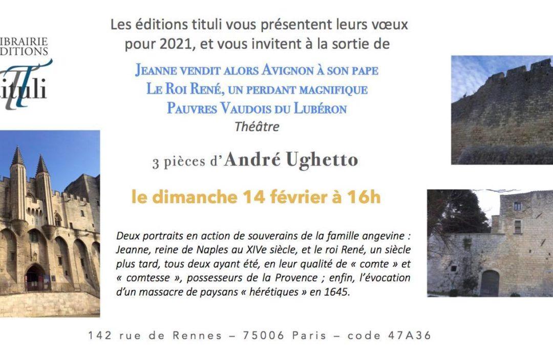 3 pièces d'André Ughetto